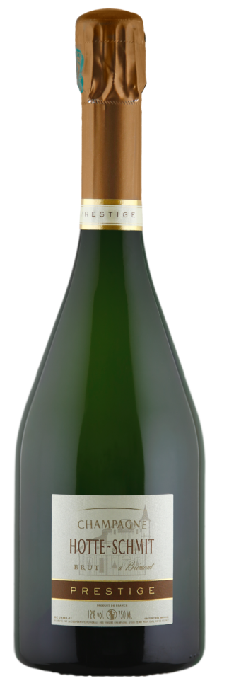 Bouteille de champagne Hotte-Schmit Prestige