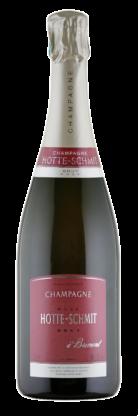 Bouteille de champagne Hotte-Schmit Rosé