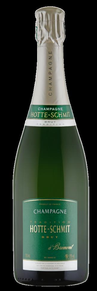 Bouteille de champagne Hotte-Schmit Tradition